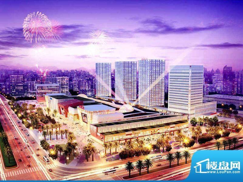广州增城万达广场效果图