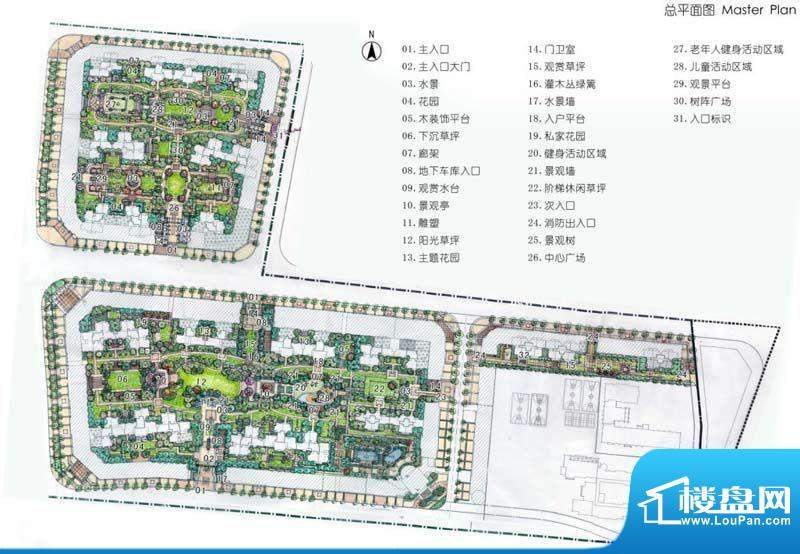 锦绣天伦花园交通图