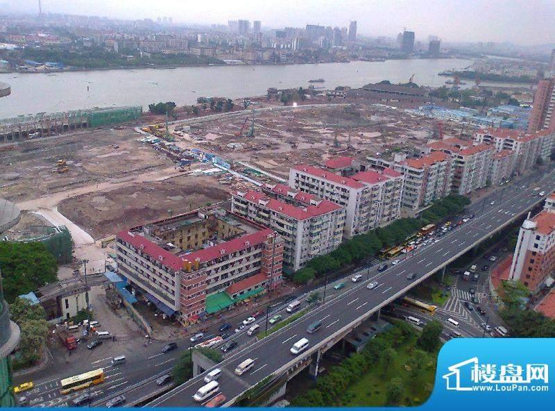 白鹅潭御景壹号地块实景图(2012-05)