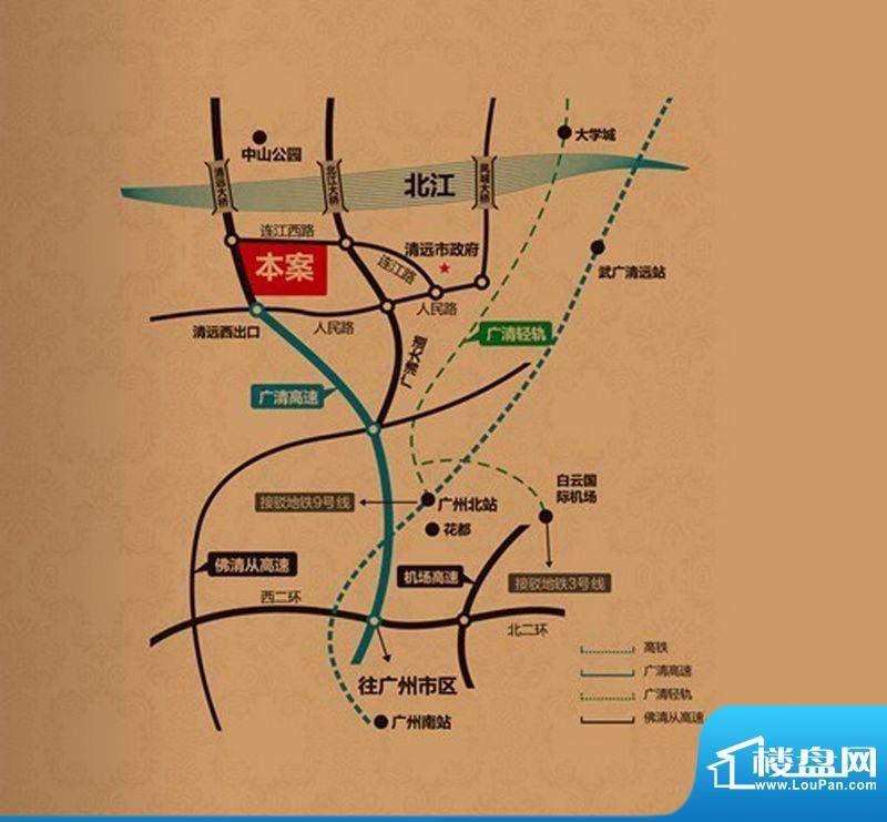翔隆·七色城邦交通图