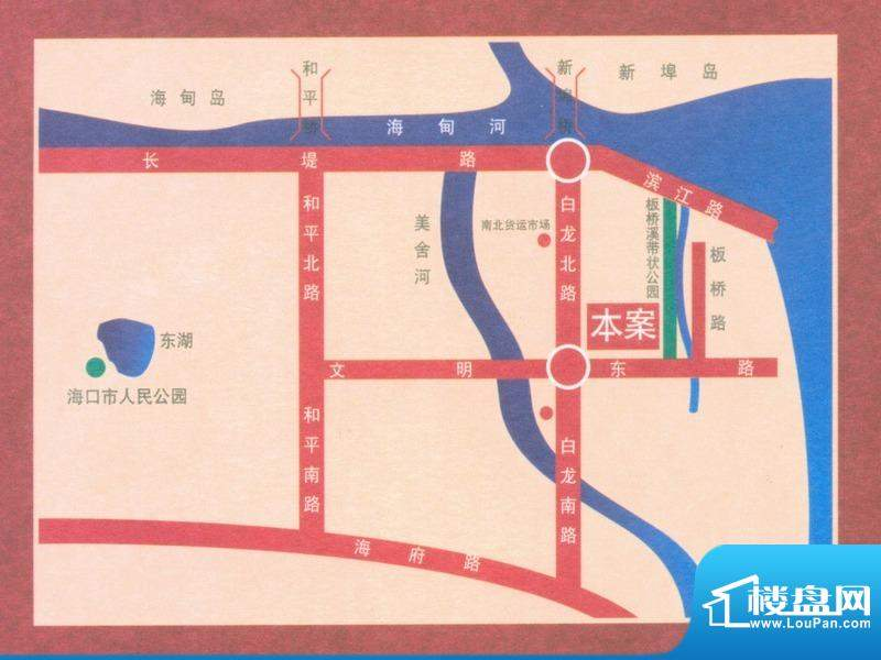 凤凰白龙新城交通图