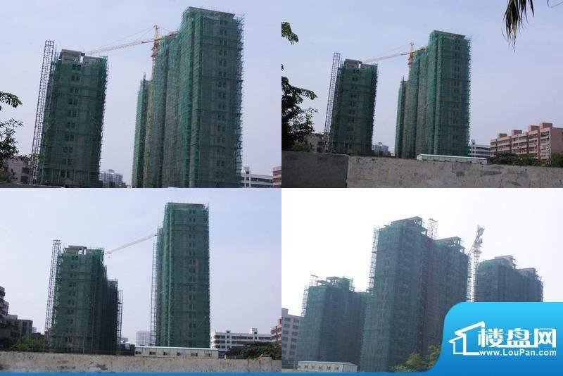 凤凰白龙新城A、B、C工程进度图(20101