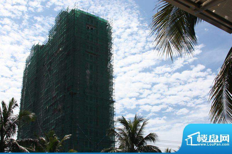 凤凰白龙新城A栋工程进展图(20100610)