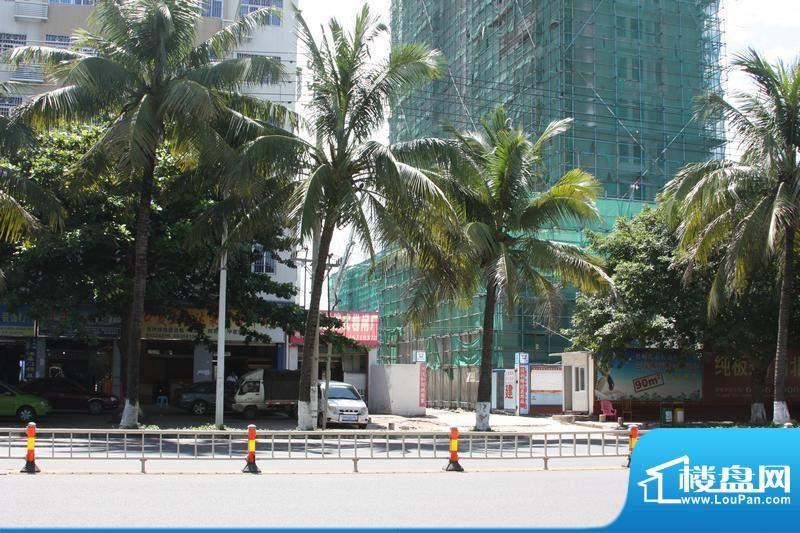凤凰白龙新城A栋工程进展实景图(201006