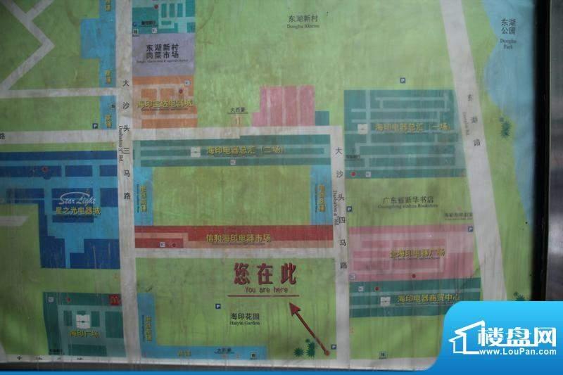 东湖广场实景图