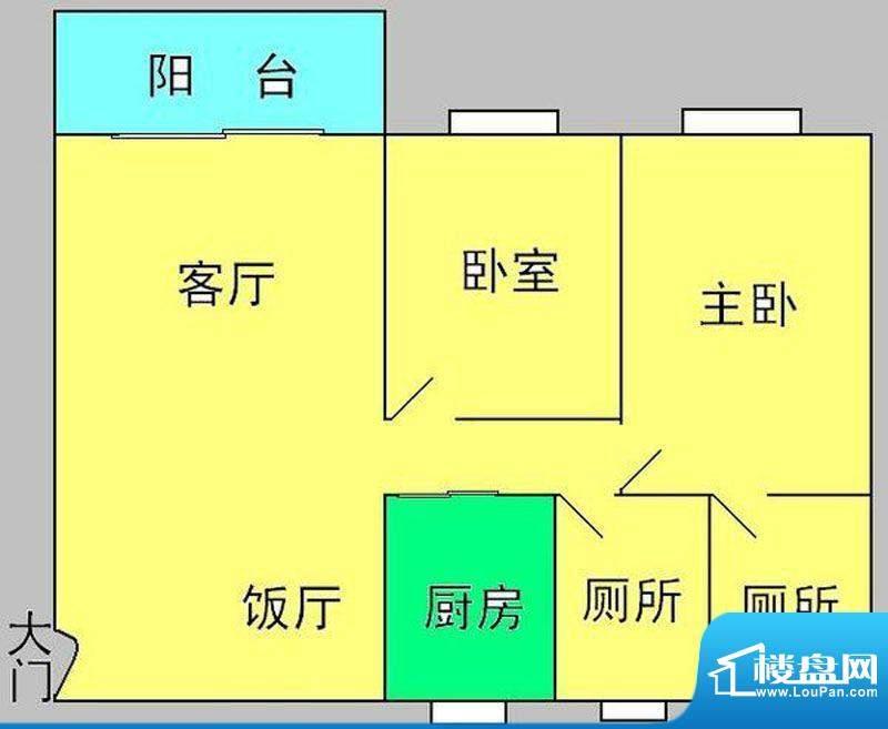 云山锦绣家园二期11面积:117.00平米