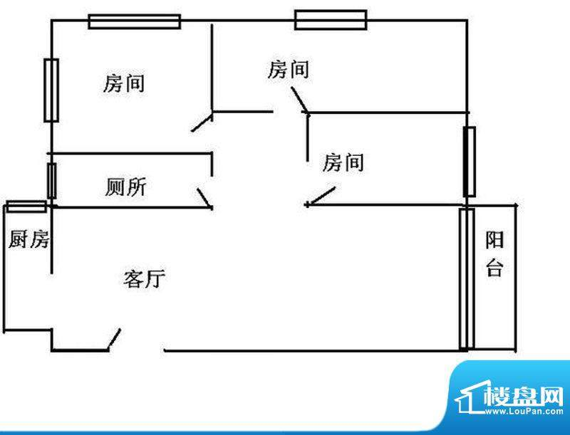 云山锦绣家园二期10面积:100.00平米