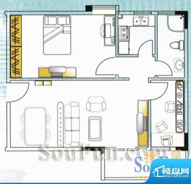 云山锦绣家园二期3室面积:0.00平米