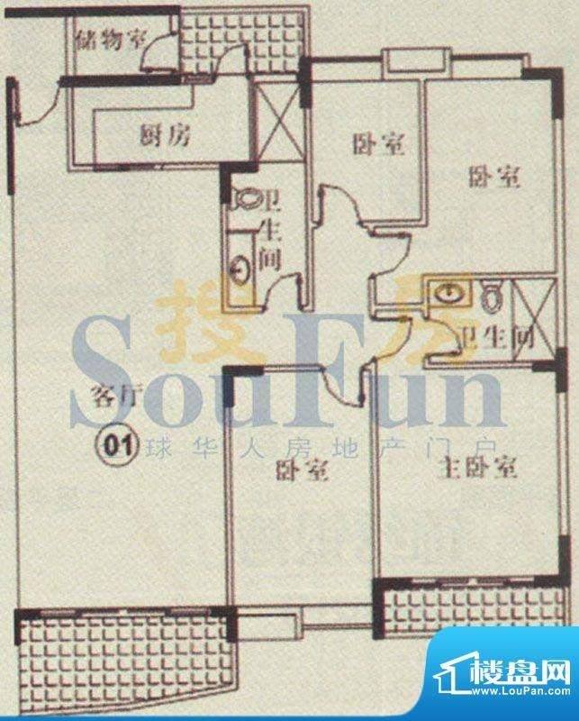 云山锦绣家园二期8号面积:0.00平米