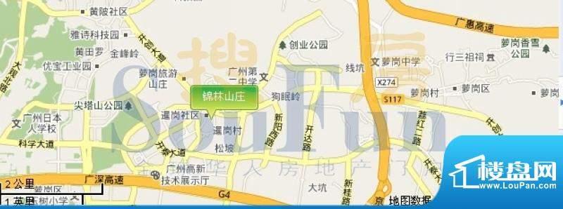 锦林山庄交通图