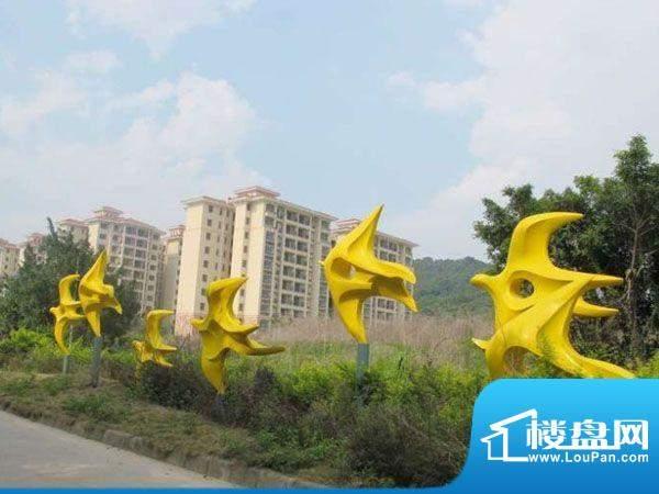 锦林山庄外景图