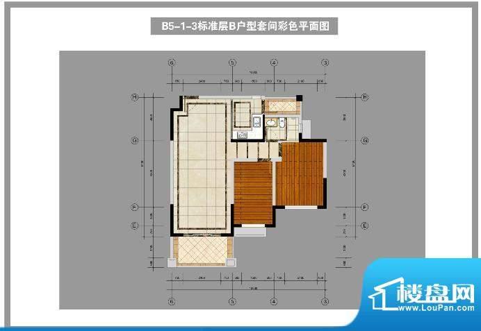锦林山庄B5-1-3标准面积:92.00平米