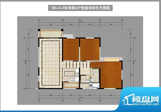 锦林山庄B6-4-5标准面积:137.00平米