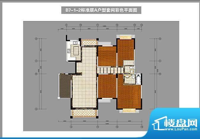 锦林山庄B7-1-2标准面积:155.00平米