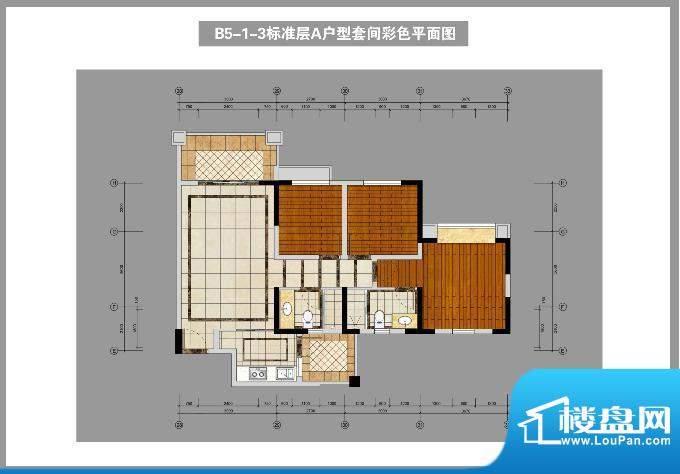 锦林山庄B5-1-3标准面积:98.00平米