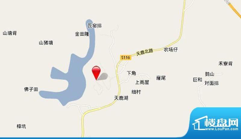 峰湖御境交通图