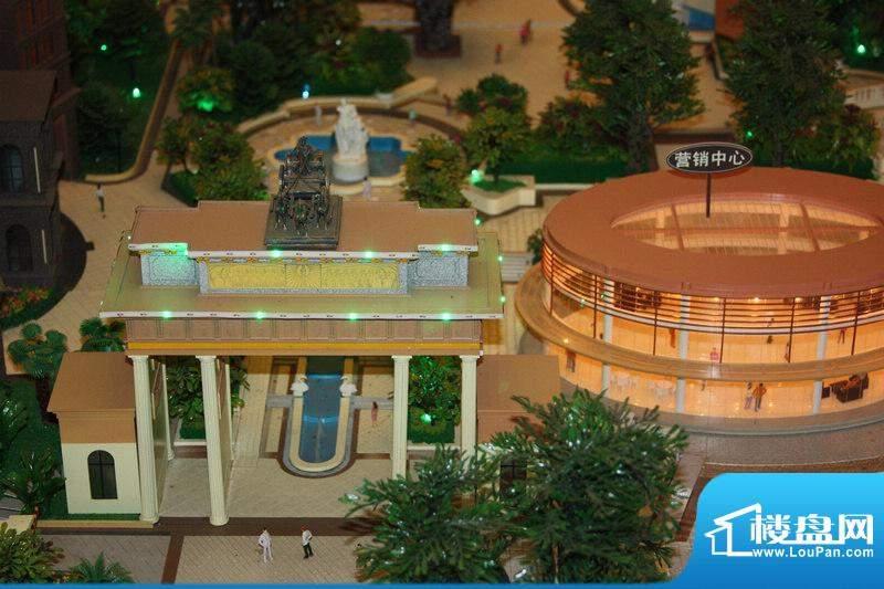 宝安滨海豪庭沙盘实景图(20110719)