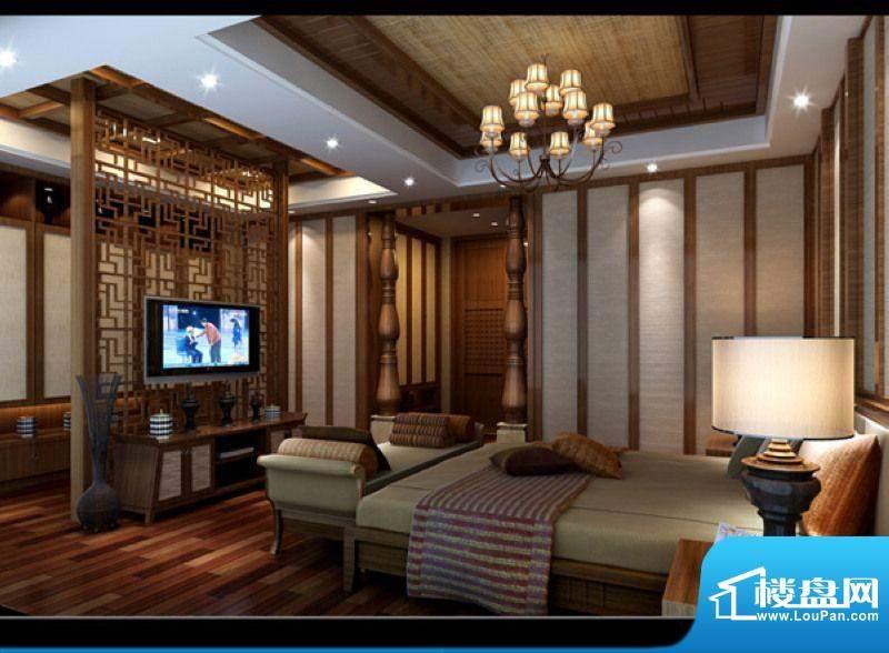 宝安滨海豪庭主卧室效果图