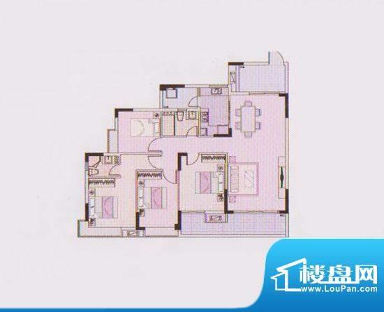 东凌广场C2栋02户型面积:122.00平米