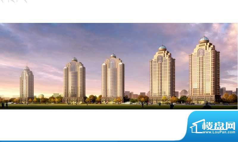 楚盛现代城实景图