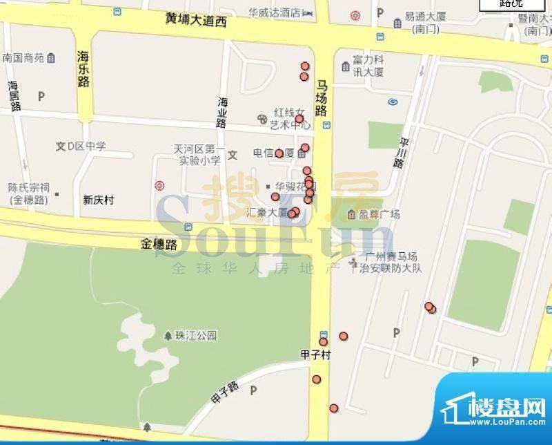 越秀地产珠江新城D8-C3项目效果图