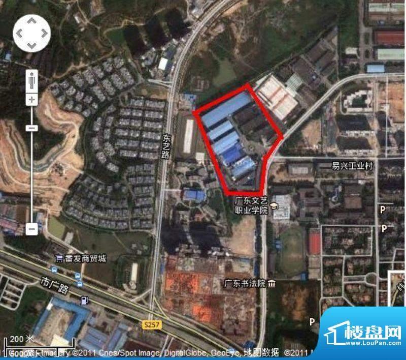 海航·华南家园交通图