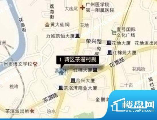 荔湾区茶滘村规划项目效果图