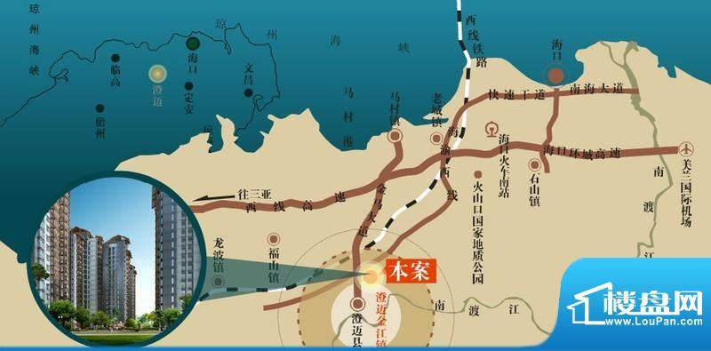 大拉长寿谷交通图