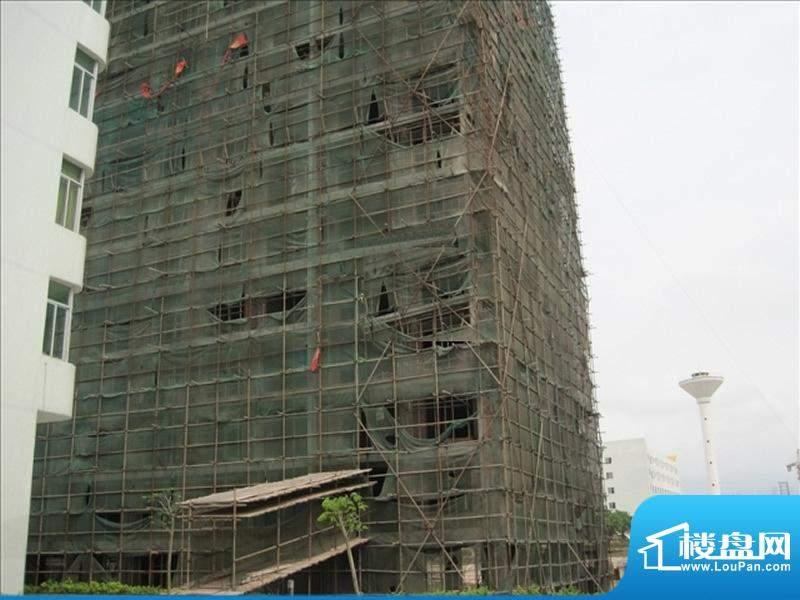 得发豪苑3栋工程进度(20100406)