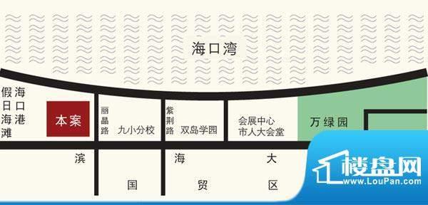环强御景湾交通图