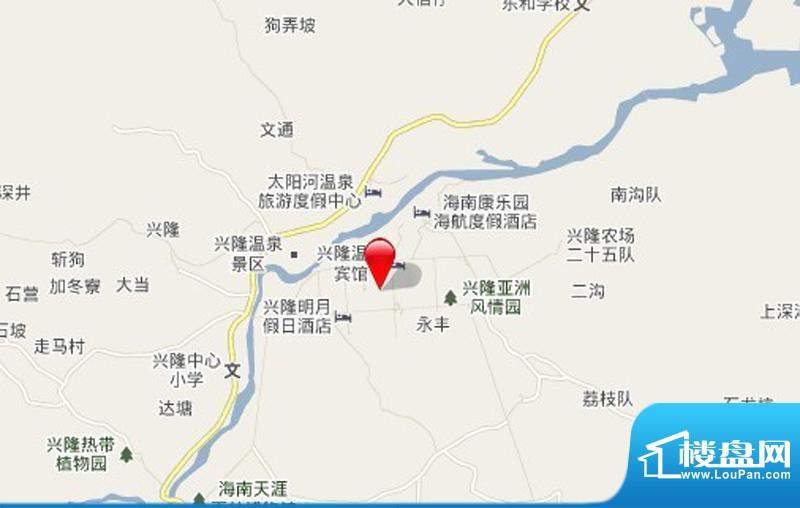 林海温泉居交通图