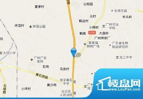 广百新城邦项目交通图