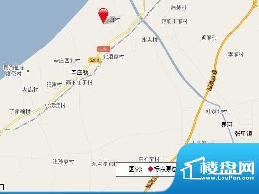 华建星海湾交通图