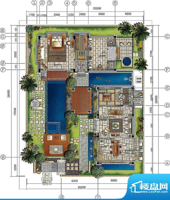 香水湾1号A3b户型图面积:0.00平米