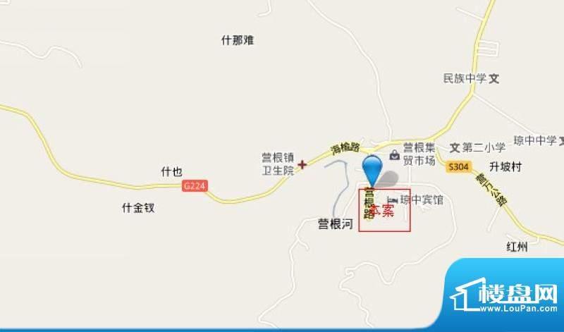 珉华百花苑交通图