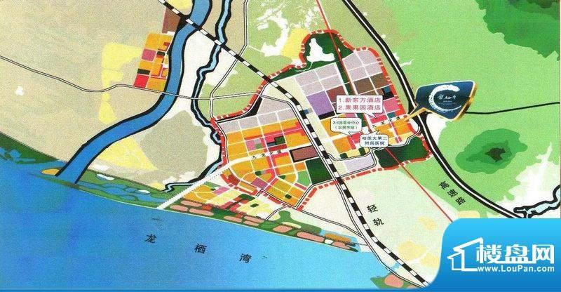 龙栖湾温泉花园交通图