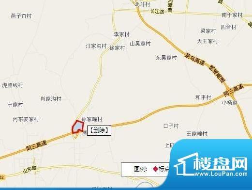 华安国际现代城交通图
