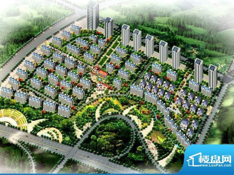 华安国际现代城效果图