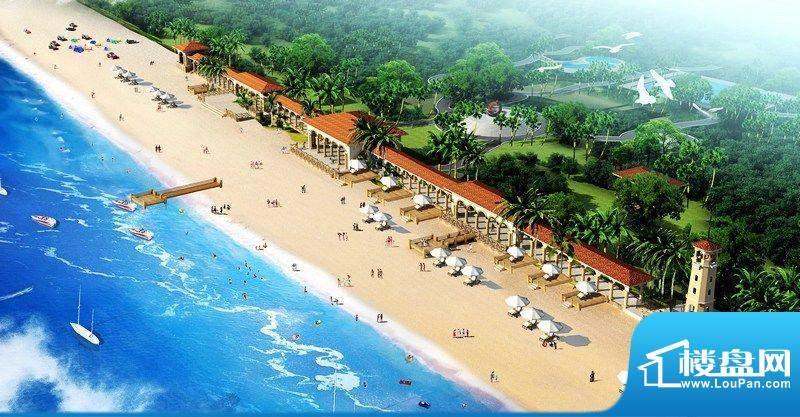 海南亚泰温泉海岸观海平台效果图