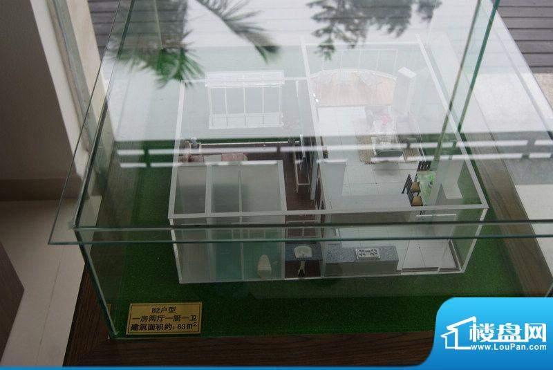 乐清湾B2户型模型图(20121219)