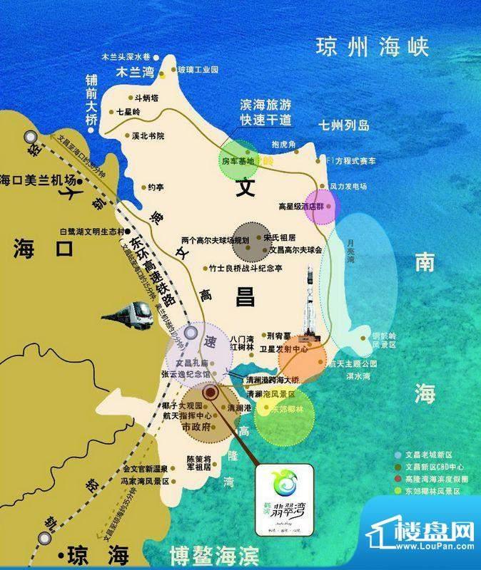 鹤润翡翠湾交通图