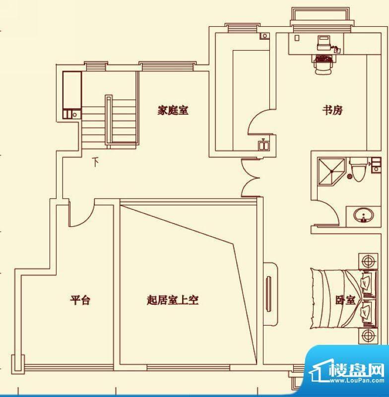 盛龙国际电梯花园洋面积:140.71平米