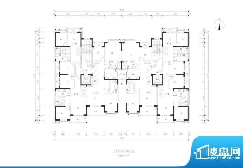 翠玉园新区6#楼标准面积:0.00平米