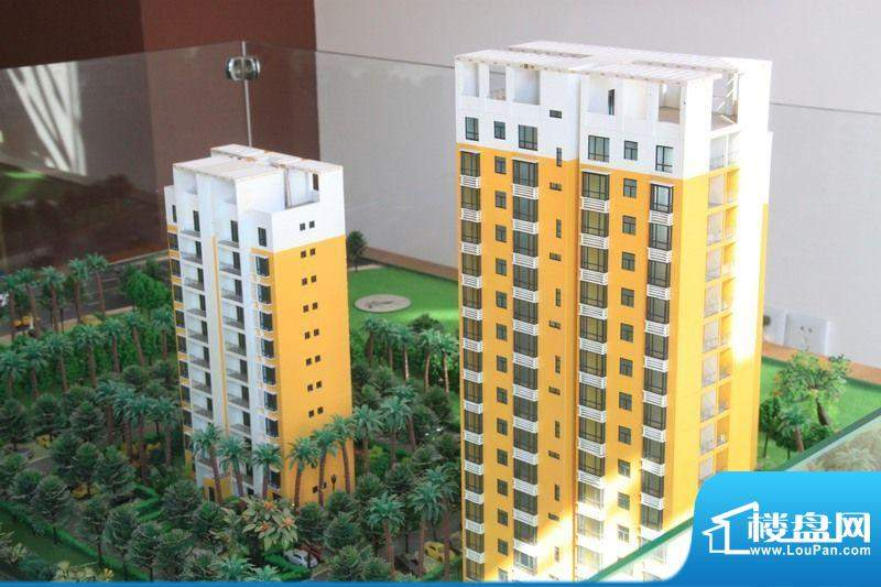 德诚公寓 沙盘图(2011-07-05)