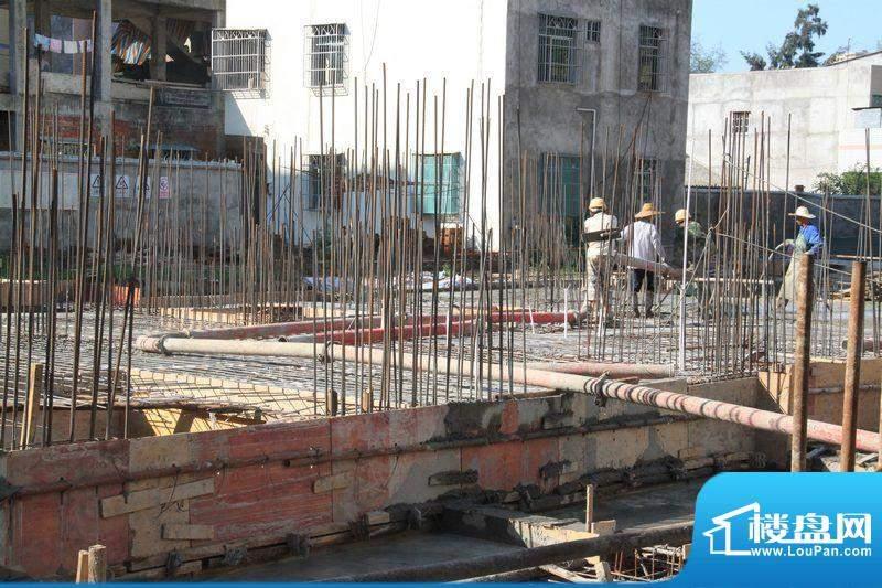 德诚公寓高层工程进度(2011-07-05)