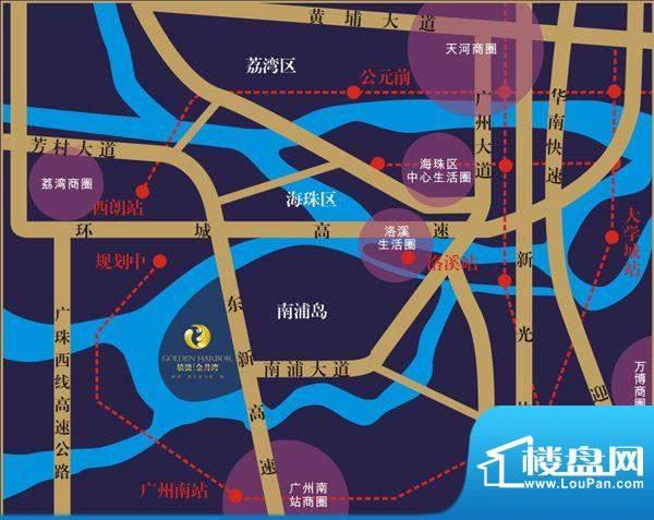 敏捷·金月湾交通图