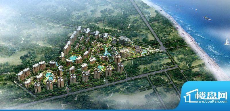 博鳌椰风海岸实景图