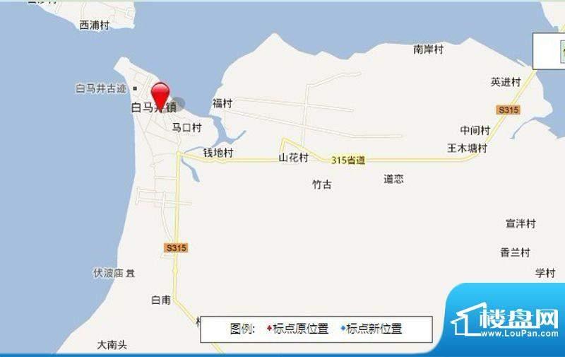 华阳园别墅交通图