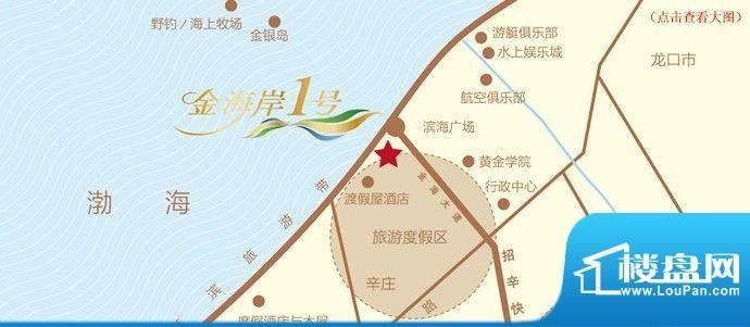 金海岸1号交通图