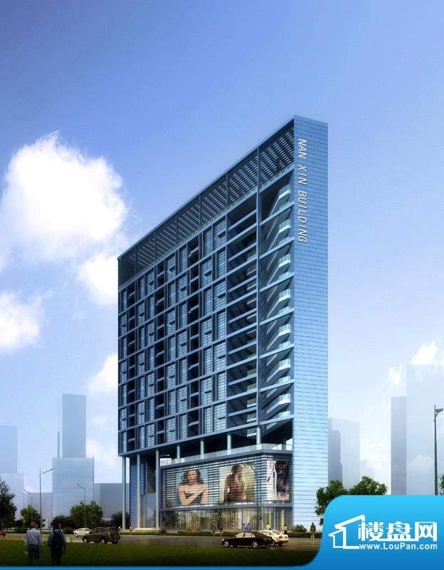 弘都商务公寓项目沿南新路透视图2